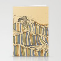 tumblr Stationery Cards featuring Ocean of love by Huebucket