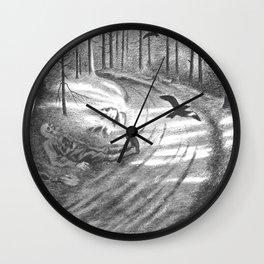 Theodor Kittelsen Fattigmannen 1894 95 The Pauper Wall Clock