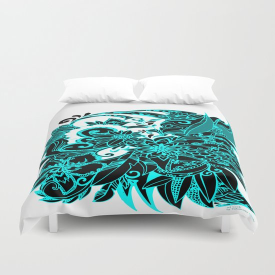 FLOWER DTS Duvet Cover
