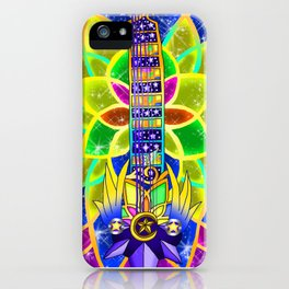 Fusion Keyblade Guitar #153 - Nightmare's End Reality Shift & Star Seeker iPhone Case