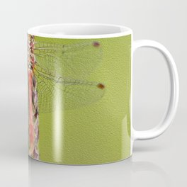 The red dragonfly Coffee Mug
