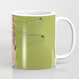 The red dragonfly Coffee Mug