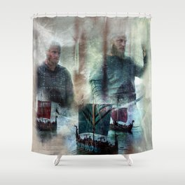 We Are Warriors Shower Curtain