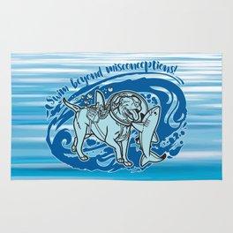 Lexy & Bruce - Swim beyond misconceptions! Rug