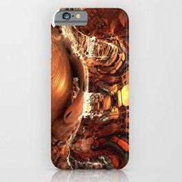 Pong 25 / / #fractal #fractals #3d iPhone Case