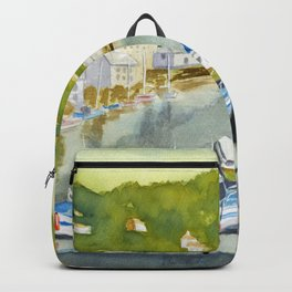 Sunny in Polperro Backpack