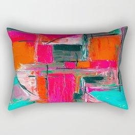 Brush Series Collors 021 Rectangular Pillow