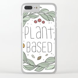 Plant Based Clear iPhone Case