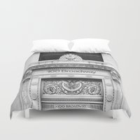 the 100 Duvet Covers featuring 100 Broadway by Jon Cain