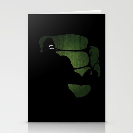 SuperHeroes Shadows : Hulk Stationery Cards