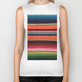 BEAUTIFUL MEXICAN SERAPE Biker Tank