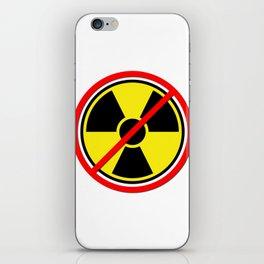Against Atom iPhone Skin