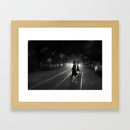 Streets of Kolkata Framed Art Print