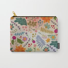 Floral Dance Carry-All Pouch
