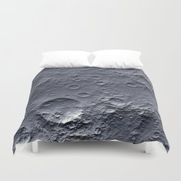 Moon Surface Duvet Cover