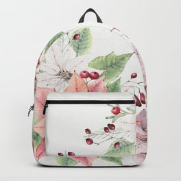 Poinsettia 2 Backpack