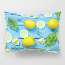 Fruits and leaves pattern (24) Pillow Sham