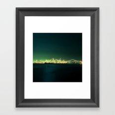 San Fran Nights Framed Art Print