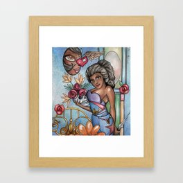 To be or not... Framed Art Print