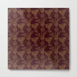 Empire Style Pattern Metal Print