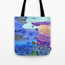 A World Below Tote Bag