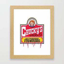 Chucky's Framed Art Print