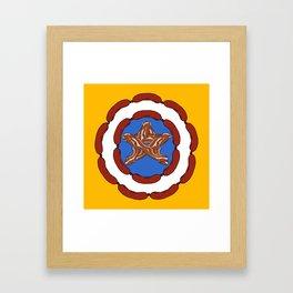 Capt. 'Merica Framed Art Print