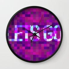 LETS GO Wall Clock