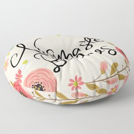 Pretty Sweary- Namaste Bitches Floor Pillow