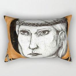 Ladies of Dragon Age: Aveline Vallen Rectangular Pillow