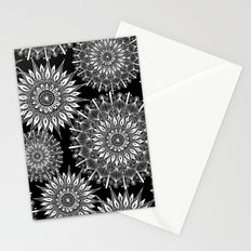 Mandala Negative Stationery Cards