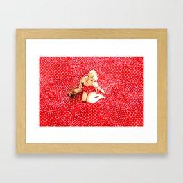 I'm going Slightly Mad..... Framed Art Print