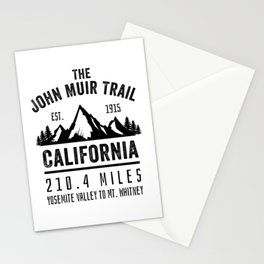 The John Muir Trail JMT Stationery Cards