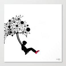 the Swingset Canvas Print