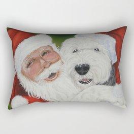 Santa's Helper Rectangular Pillow