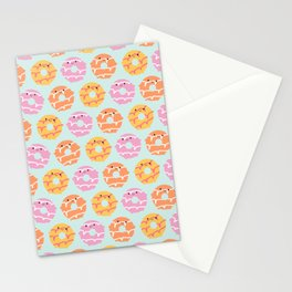 Kawaii Party Rings Biscuits Stationery Cards