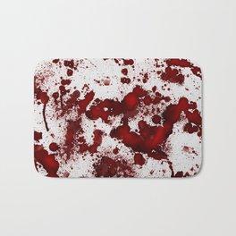 Blood Stains Bath Mat