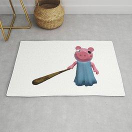 Little Brother Piggy Rug
