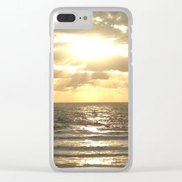 Sun rays Clear iPhone Case