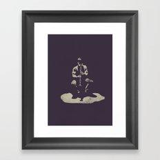 alone clarinet Framed Art Print