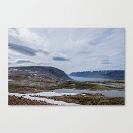 Icelandic Moonscapes - One Canvas Print