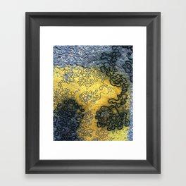 Streetscape Framed Art Print