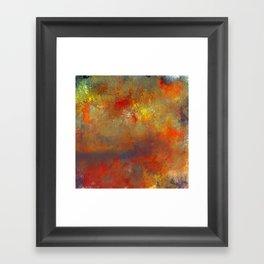 Abstract Hidden Pathways Framed Art Print