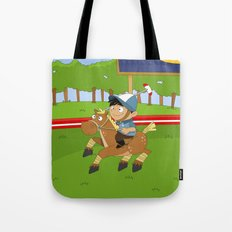 Non Olympic Sports: Polo Tote Bag