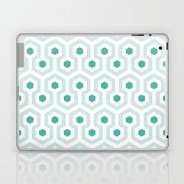 Shining in Aqua Laptop & iPad Skin