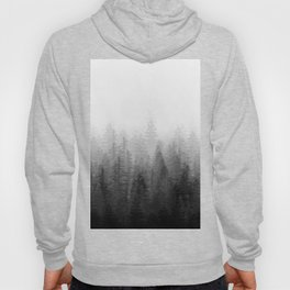 Into The Misty Nature - Black & White Hoody