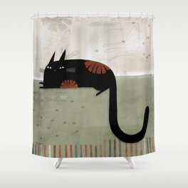 HOOK TAIL Shower Curtain