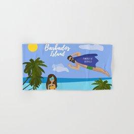 Barbados Trip Hand & Bath Towel