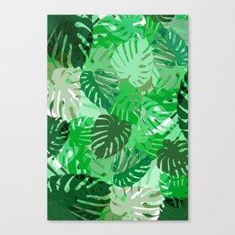 Emerald Jungle Canvas Print