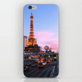 Las Vegas Strip at sunset iPhone Skin